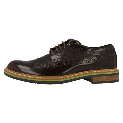 mens clarks formal brogue shoes darby limit ebay