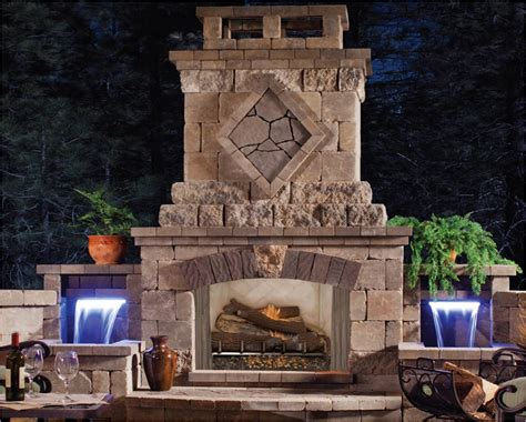Outdoor Gas Fireplace Kits   Home Design by Fuller