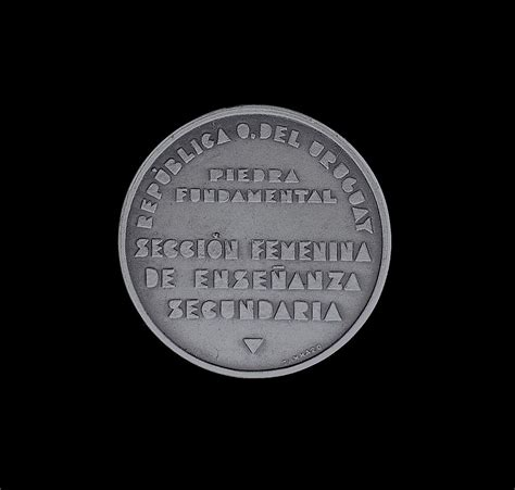 Pena Silver Kemas Bok a pena 1936 silver s secondary education medal from scarab antiques