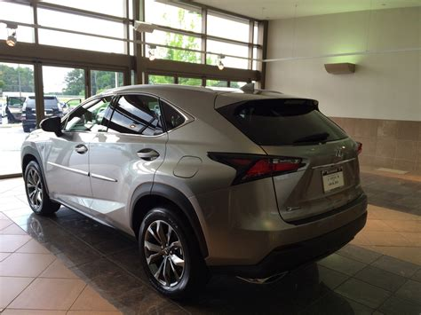 lexus atomic silver nx getting my nx f sport in atomic silver today clublexus