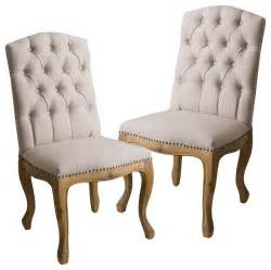 jolie weathered wood dining chairs set of 2