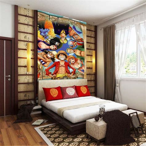 japanese bedroom wallpaper japanese anime one piece photo wallpaper custom silk