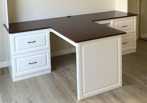custom desk with cherry countertop esoteric woodcraft