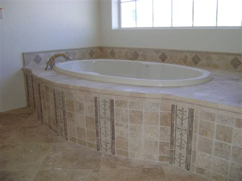 travertine bathtub tile bathtub surround travertine tub surround inspiration