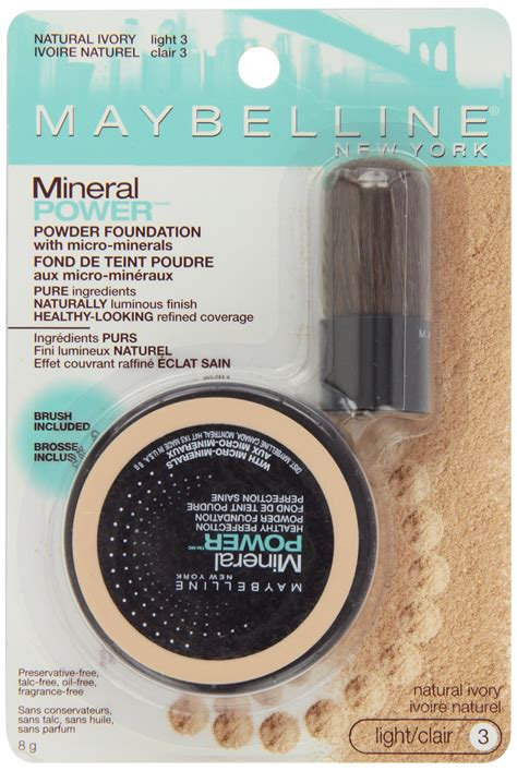 Maybelline Mineral Power Concealer maybelline mineral power powder foundation