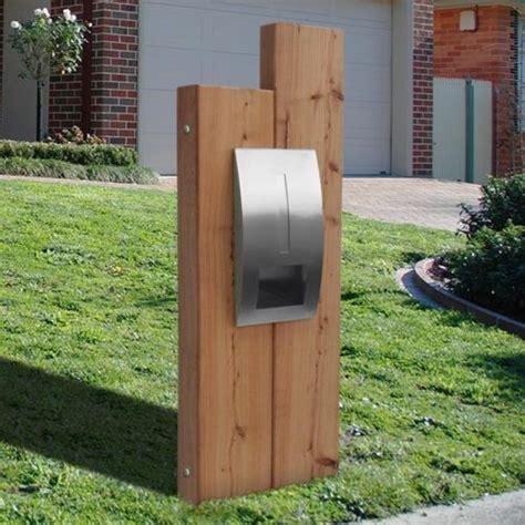 Box Panel Stainless Steel Custom milkcan letterbox sleeper timber panel stainless steel