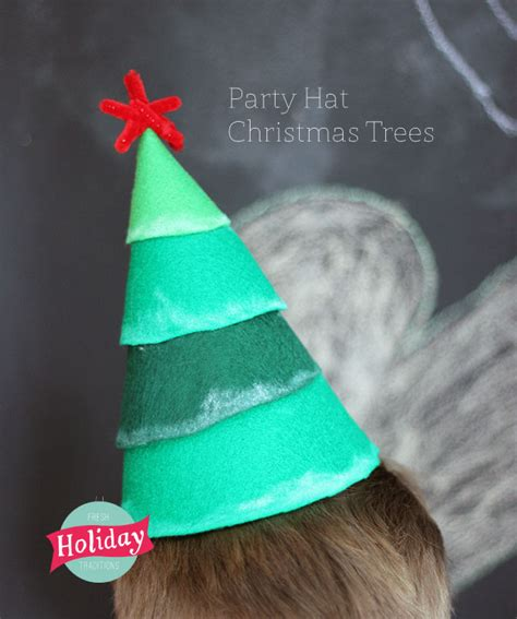 fresh holiday traditions party hat christmas trees