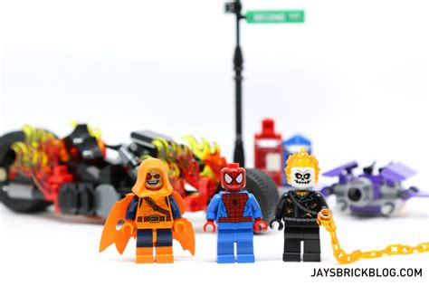 Lego 76058 Ghost Riders review lego 76058 spider ghost rider team up