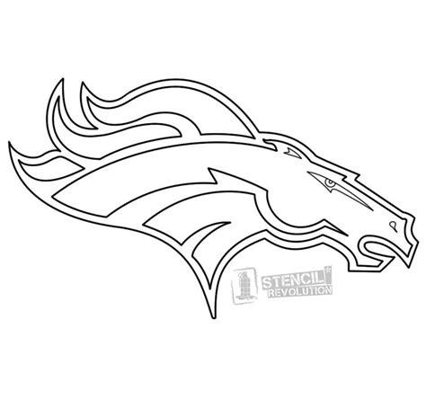 Printable Broncos Stencil denver broncos stencils printable stencils denver and