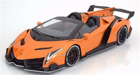 kyosho  lamborghini veneno roadster orange