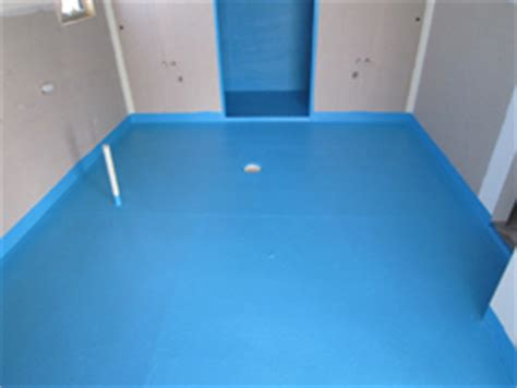 how to waterproof a bathroom before tiling s and k waterproofing bathrooms polyurethane membranes