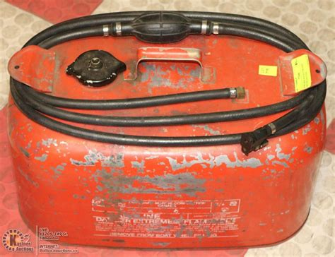 outboard boat motor gas tank portable boat outboard motor gas tank kastner auctions