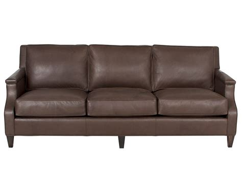 classic leather sofas classic leather candace sofa 8723 leather furniture usa