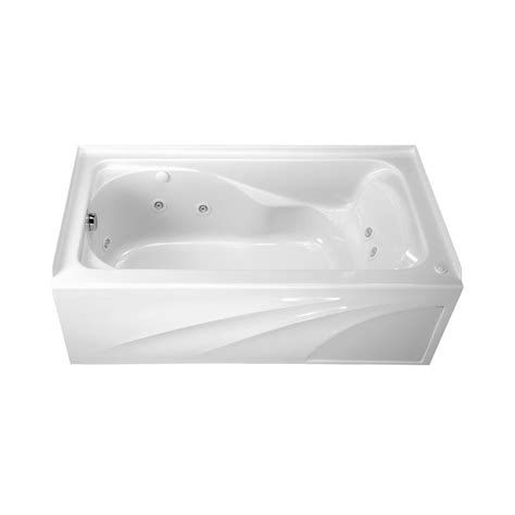 american standard cadet 5 ft whirlpool tub with integral