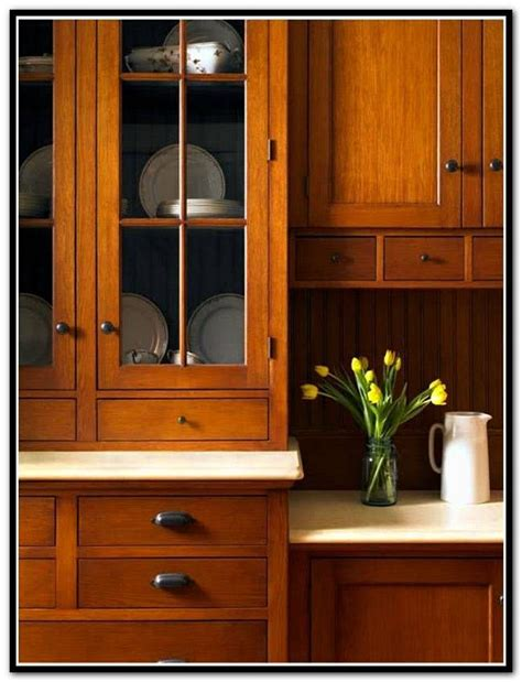 Mission Style Kitchen Cabinets Quarter Sawn Oak Home