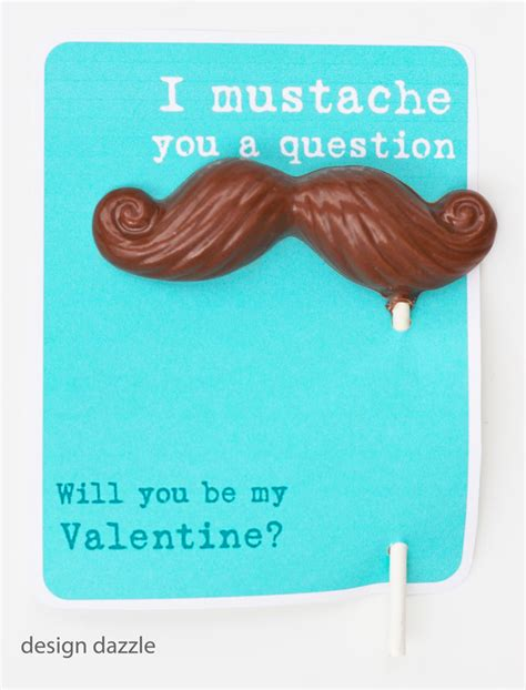 i mustache you to be my five diy valentines lakeside collection