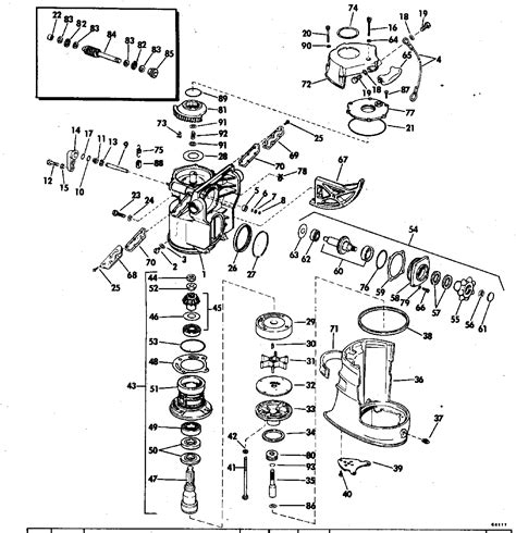 omc stringer parts diagram i i think an omc stinger outdrive that has got
