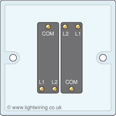 2 2 way light switch light wiring