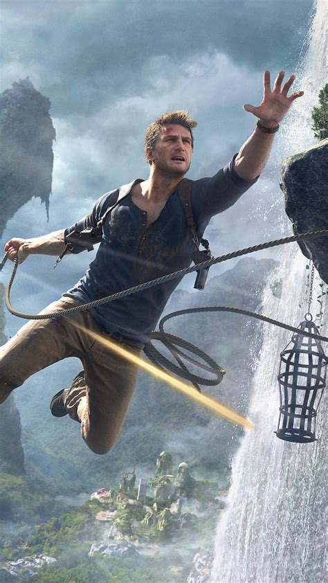 wallpaper uncharted   thiefs  nathan drake