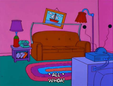 homer couch homer simpson couch gag gif find share on giphy