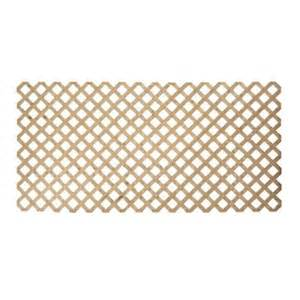 wood lattice home depot 3 4 in x 48 in x 8 ft pine pressure treated premium
