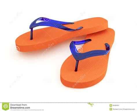 imagenes de sandalias egipcias orange flip flops on white background stock photo image