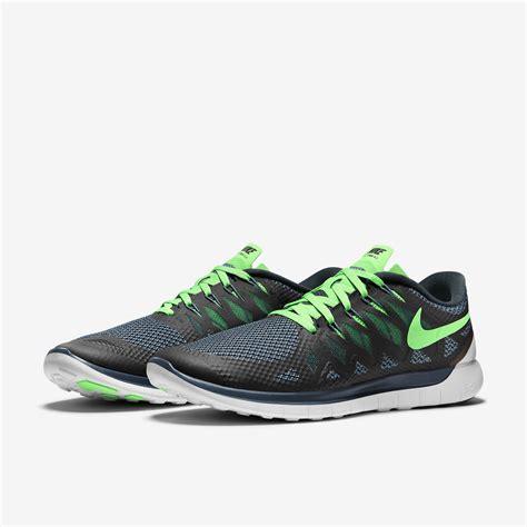mens nike 5 0 running shoes nike mens free 5 0 running shoes black green