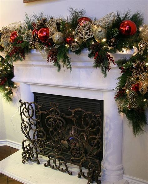 Fireplace Garlands by Garlands For Stairs Fireplaces And Lights