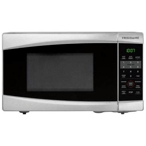 frigidaire 0 7 cu ft countertop microwave in stainless