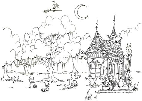 halloween coloring pages printable for adults halloween coloring pages for adults