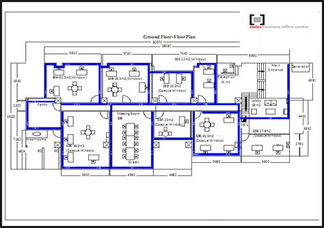 business office floor plans single office floor plans and swiss business office