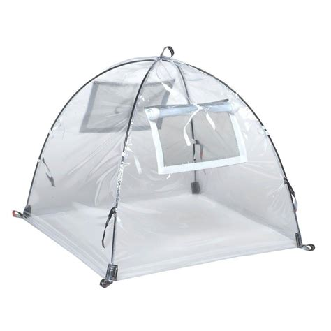 nuvue 28 in greenhouse pop open framed clear pvc cover