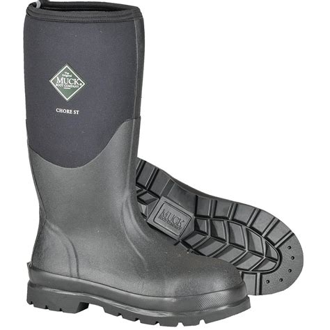 steel toe muck boots muck 16 quot h steel toe chore boot gempler s