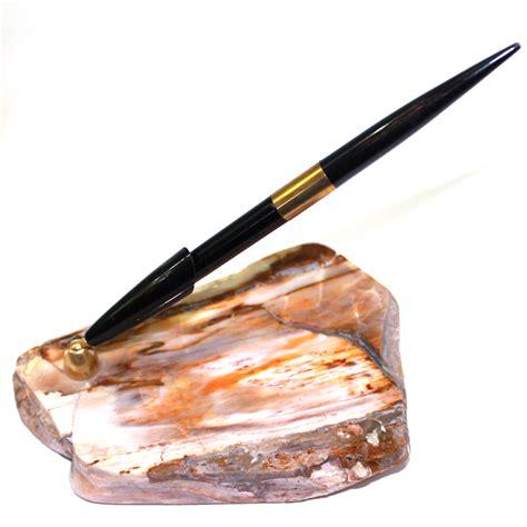 porte stylo en bois fossilis 233 la taillerie de n 238 mes
