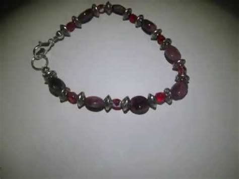 Gelang Batu Giok Pink Hq gelang batu tourmaline pink merah 7 25 inch