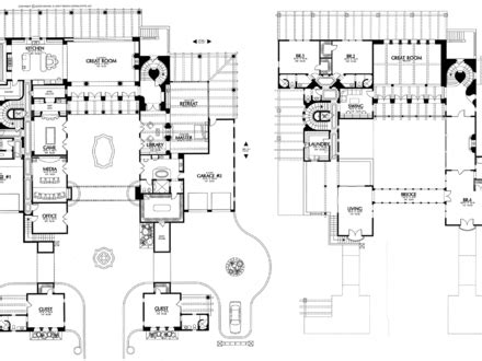 House Floor Plans Acreage House Plan House Designs Plans Mexican House Plans With Courtyard