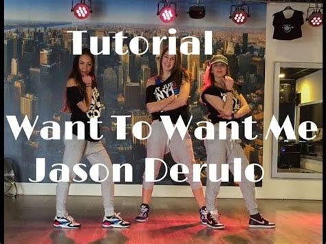 tutorial want to want me jason derulo want to want me tutorial saskia s