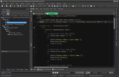 best php text editor top 7 best free web development ide for javascript html