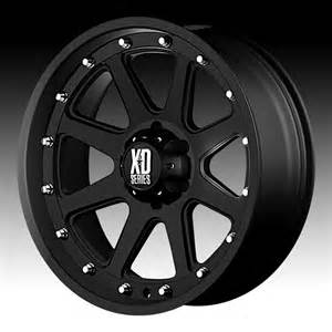 Black Truck Wheels Xd Series Kmc Xd Series Xd798 Addict Matte Black Custom Wheels Rims