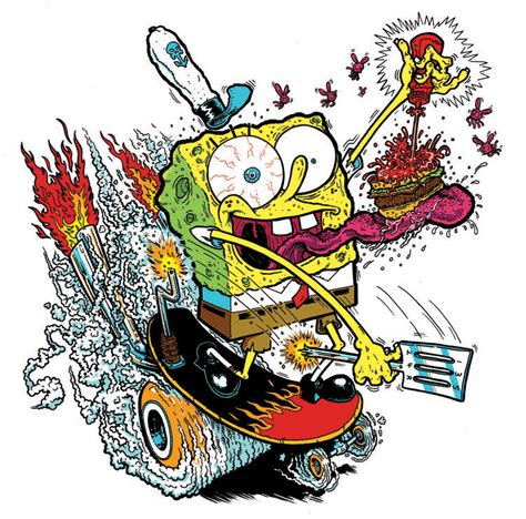 spongebob skate or fry by yourpalsmitty on deviantart