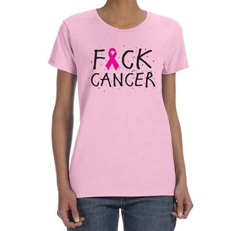 T Shirt F Is f cancer light pink t shirt 21534 1019 ebay