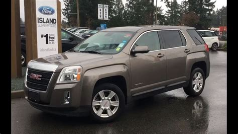 2012 Gmc Terrain Sle by 2012 Gmc Terrain Sle 1 Backup Awd Review Island