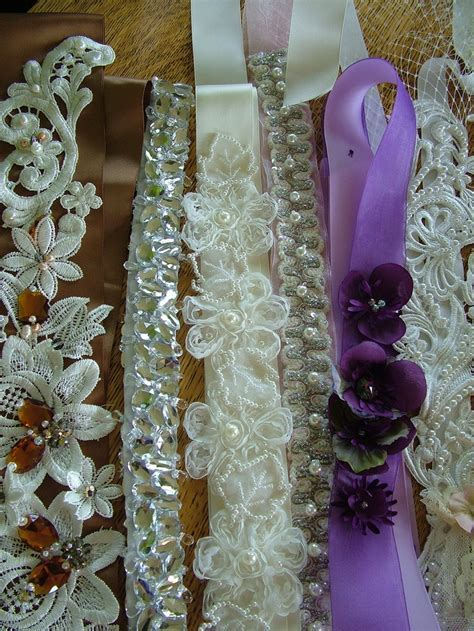35 best LACED Sashes & Belts images on Pinterest   Satin