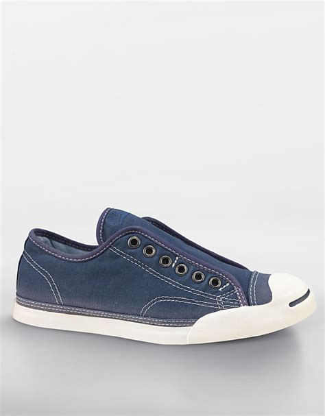 laceless sneakers womens converse jp slip laceless canvas sneakers in blue navy