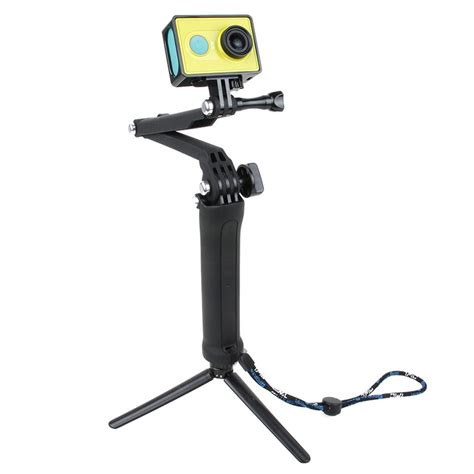 Monopod Yi tmc 3 way foldable extension monopod tripod for xiaomi yi