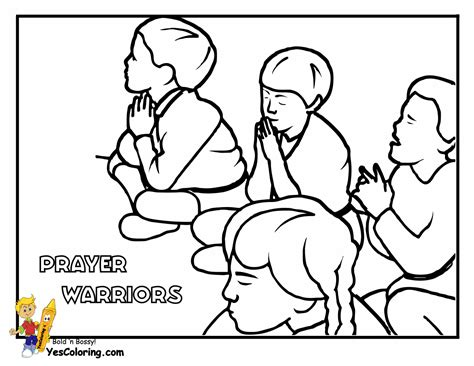 Mighty Grace Bible Coloring Sheets Bibles Free Bible Children Praying Coloring Page
