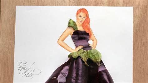 desain gaun unik cantik 15 sketsa desain gaun yang kreatif dan unik banget