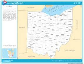 state map with cities and counties ohio state maps interactive ohio state road maps state