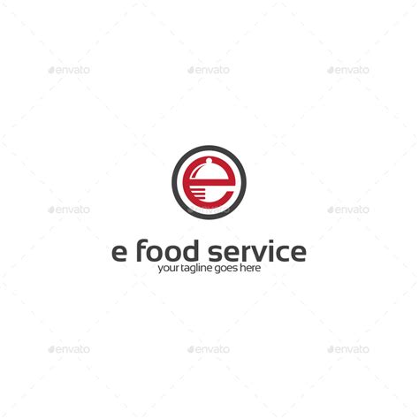 letter  food service logo  stocklogos graphicriver