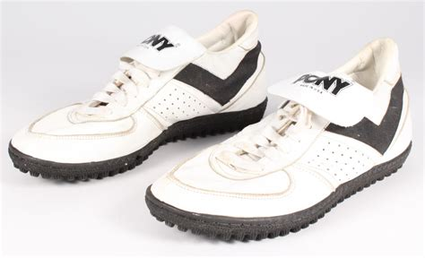 pony football shoes sports memorabilia auction pristine auction